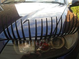 Eyelashes for Cars,Car Eyelashes   High quality Car lashes in BLACK