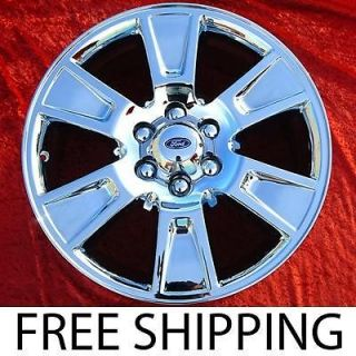 New 20 Ford F 150 Chrome OEM Factory Wheels Rims Expedition Mark 3787