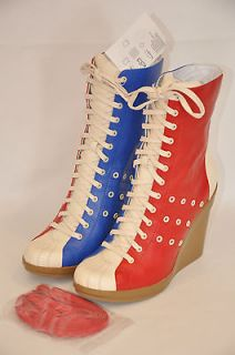Adidas Originals ObyO Jeremy Scott JS Bowling Boots Light Scarlet