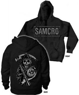 FALL 2012 SONS OF ANARCHY HOODIE SOA SAMCRO L