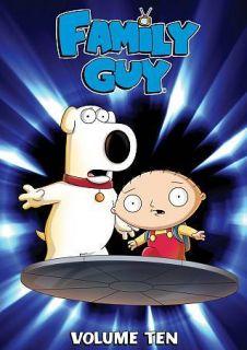 Family Guy Season/Volume 10 (Ten/10th/Tenth)   DVD Set New