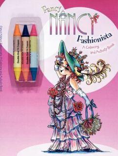 Fancy Nancy Fashionista by Jane OConnor 2011, Paperback, Activity
