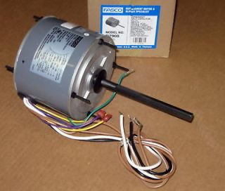 Fasco 1/3 HP 1075 RPM AC Air Conditioner Condenser Fan Motor TENV