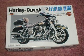 Imex 1/12 Harley Davidson FLH Electra Glide Kit NIB Motorcycle