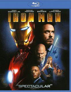 Iron Man Blu ray Disc, 2011