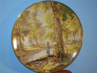 Gorham China Bettie Felder When I was A Child Plate
