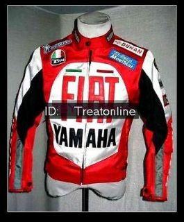 Motorcycle DUHAN FIAT RED Textile Racing Jacket NEW Motor Bike