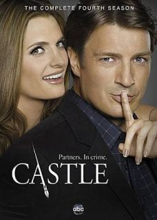 Castle The Complete Fourth Season DVD, 2012, 5 Disc Set