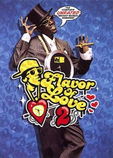 Flavor of Love   The Complete Unrated Second Season DVD, 2006, 3 Disc