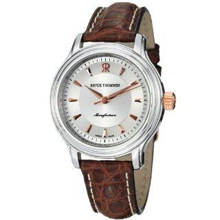 Revue Thommen Womens 12500.2552 Classic Brown Leather Strap Watch