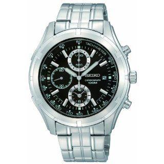 Seiko Mens SNDC37 Chronograph Watch Watches