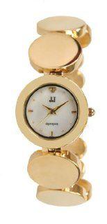 Jules Jurgensen Womens Gold Tone Link Watch # JJ5000G Watches