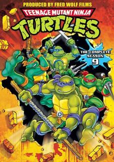 Teenage Mutant Ninja Turtles The Complete Season 9 DVD, 2011