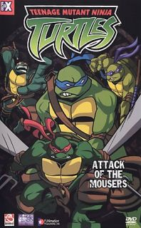 Teenage Mutant Ninja Turtles   Vol. 1 Attack of the Mousers DVD, 2003, Edited