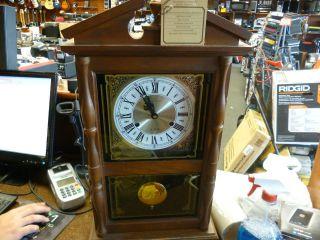 Hamilton 31 Day Wall Clock NICE