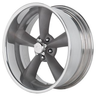 NEW 17x7 Billet Specialties Legend Series Mag or Mag G Wheels Hot Rod