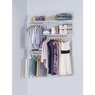 Inicio Rubbermaid   Kit para armario personalizado, 3 6