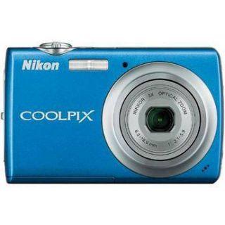 Nikon Coolpix S220 Digital Camera (Cobalt Blue) 26149