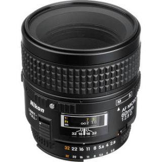 Used Nikon AF Micro Nikkor 60mm f/2.8D Lens 1987B