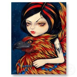 Phoenix Tattoo Postcard from Zazzle