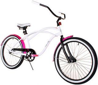 Dynacraft 24 inch Girls Cruiser Bike   Hello Kitty   Dynacraft