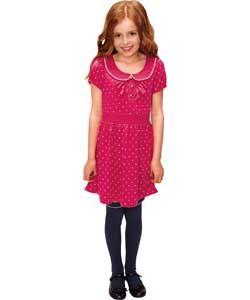 Buy Emma Bunton Girls Red Star Jersey Dress   2 3 Years at Argos.co