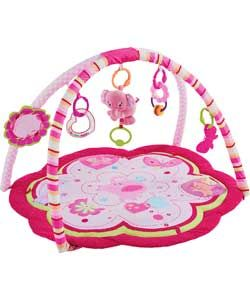 Buy Bright Starts Sweet Safari Pink Baby Gym at Argos.co.uk   Your