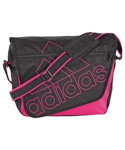 Buy Adidas Messenger Bag   Black and Pink at Argos.co.uk   Your Online