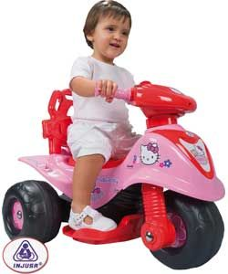 Buy Injusa Childs Hello Kitty Storm Trimoto Bike at Argos.co.uk   Your