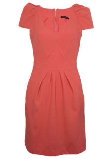 Vestido FiveBlu FiveBlu Pregas Rosa   Compre Agora  Dafiti