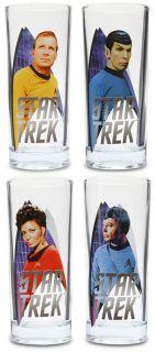 Star Trek 10 oz. Glass Set