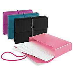 Office Depot Brand Poly Index Box With Cards Assorted Colors No Color