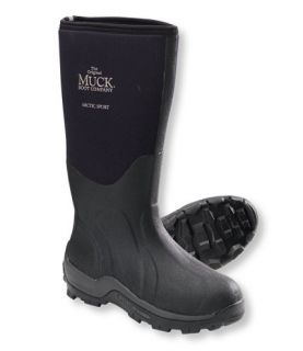 Mens Arctic Sport Muck Boots, High Cut Winter Boots