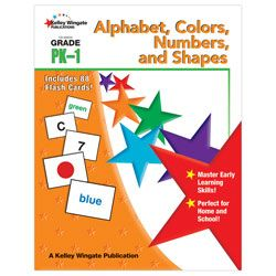 Carson Dellosa Early Learning Skills Book Alphabet Colors Numbers and