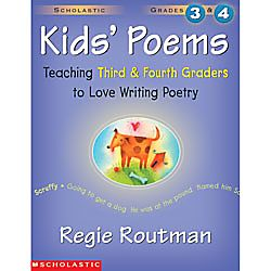 Scholastic Kids Poems Grade 3 4 by Office Depot
