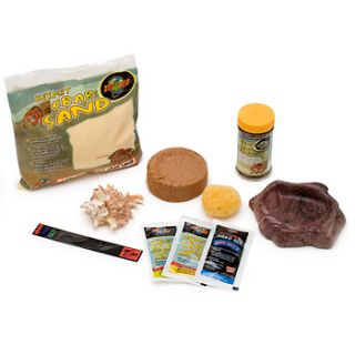 Home Reptile Habitats Zoo Med Starter Hermit Crab Kit