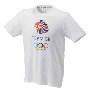 Play   Buy London Olympics 2012 Mens Team GB T Shirt (White