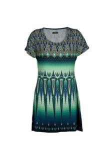 Vestido Triton Curto Evase Authentic Verde   Compre Agora  Dafiti