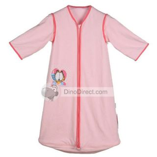 Wholesale Cute Cotton Zipper Babys Sleep Sack Sleeping Bag