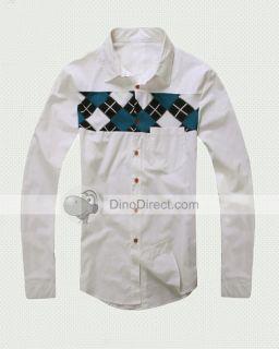 Wholesale GINIM Srylish Long Sleeves Men Casual Shirts