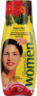 Natures Plus Source of Life® Women Multi Vitamin and Mineral Liquid