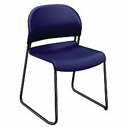 HON GuestStacker 4030 Series Chairs 31 H x 21 W x 21 12 D Regatta
