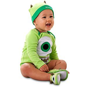 Mike Wazowski Disney Cuddly Bodysuit Collection for Baby  Bodysuits
