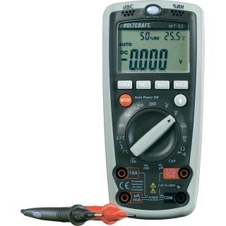 VOLTCRAFT MT 52 Digital Multimeter mit Temperaturfühler Typ K