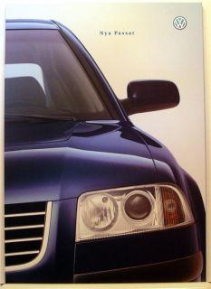Volkswagen Nya Passat Broschyr på Tradera. Volkswagen   Audi