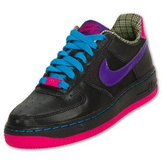 Nike Kids Air Force 1 Low Basketball Shoe FinishLine Black on PopScreen 2356712da65a