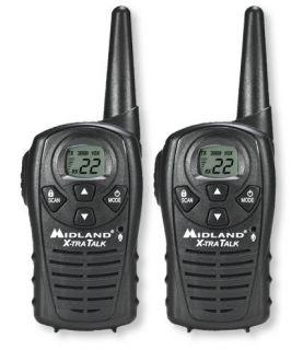 Midland LXT118 FRS/GMRS Radio Set Two Way Radios   at L