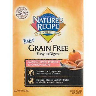 Natures Recipe Grain Free Salmon, Sweet Potato & Pumpkin Dry Dog Food