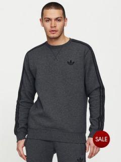 adidas Originals Mens Crew Neck Sweat Top Very.co.uk