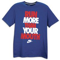 Nike Graphic T Shirt   Mens   Blue / Red